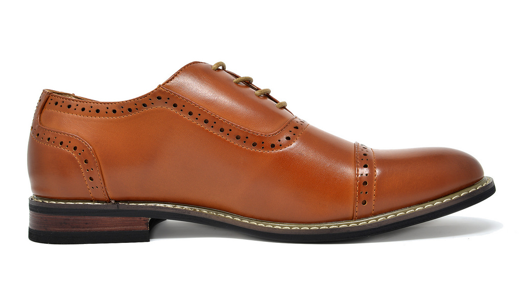 Bruno-Marc-Mens-Classic-Formal-Modern-Wingtip-Lace-Up-Dress-Oxfords-Shoes-6-5-15 thumbnail 37