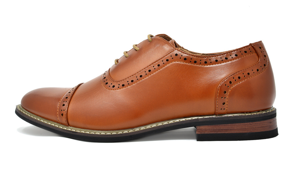 Bruno-Marc-Mens-Classic-Formal-Modern-Wingtip-Lace-Up-Dress-Oxfords-Shoes-6-5-15 thumbnail 36