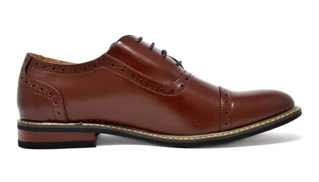 Bruno-Marc-Mens-Classic-Formal-Modern-Wingtip-Lace-Up-Dress-Oxfords-Shoes-6-5-15 thumbnail 44