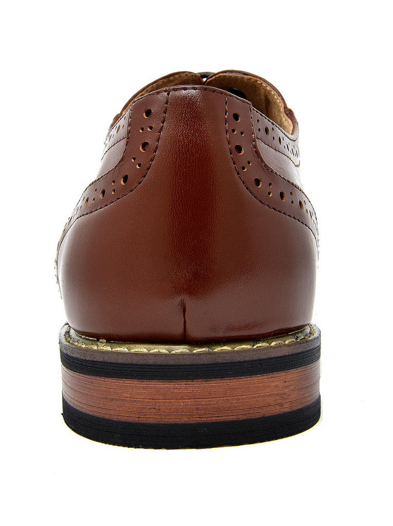 Bruno-Marc-Mens-Classic-Formal-Modern-Wingtip-Lace-Up-Dress-Oxfords-Shoes-6-5-15 thumbnail 47