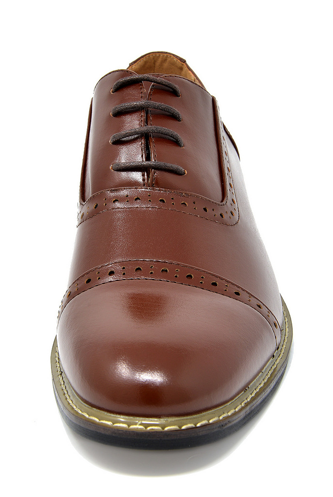Bruno-Marc-Mens-Classic-Formal-Modern-Wingtip-Lace-Up-Dress-Oxfords-Shoes-6-5-15 thumbnail 46