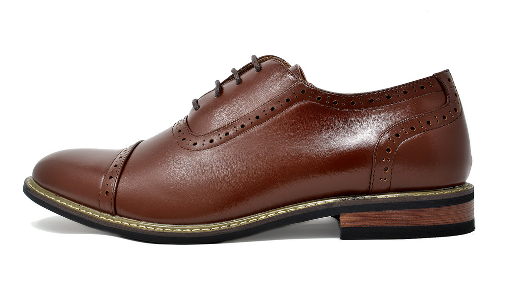 Bruno-Marc-Mens-Classic-Formal-Modern-Wingtip-Lace-Up-Dress-Oxfords-Shoes-6-5-15 thumbnail 43