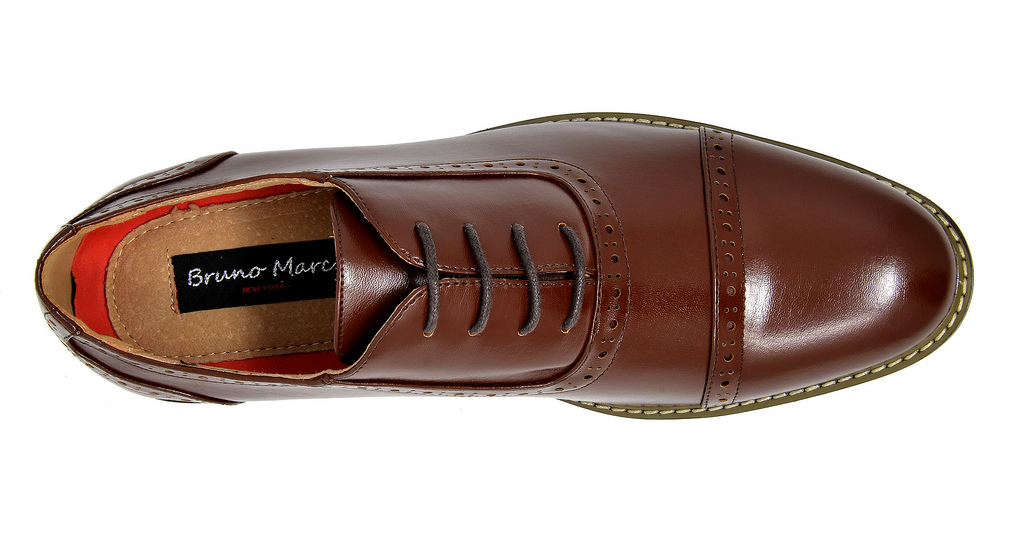 Bruno-Marc-Mens-Classic-Formal-Modern-Wingtip-Lace-Up-Dress-Oxfords-Shoes-6-5-15 thumbnail 45