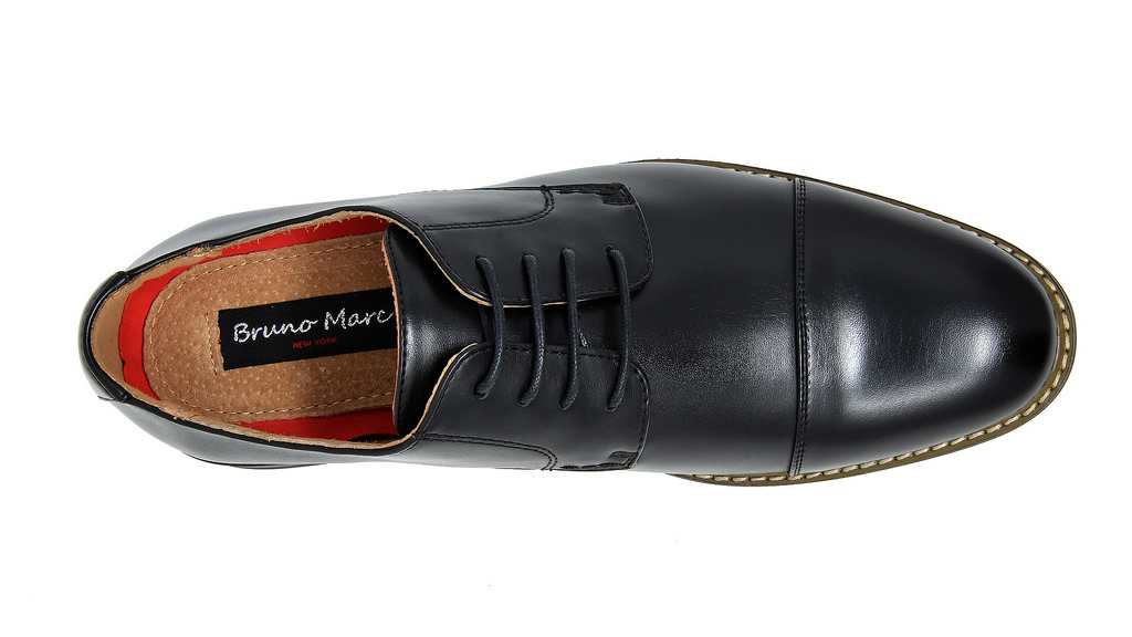 Bruno-Marc-Mens-Classic-Formal-Modern-Wingtip-Lace-Up-Dress-Oxfords-Shoes-6-5-15 thumbnail 52