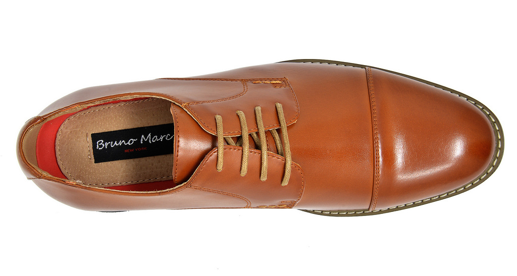 Bruno-Marc-Mens-Classic-Formal-Modern-Wingtip-Lace-Up-Dress-Oxfords-Shoes-6-5-15 thumbnail 66