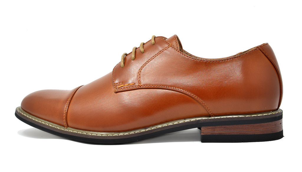 Bruno-Marc-Mens-Classic-Formal-Modern-Wingtip-Lace-Up-Dress-Oxfords-Shoes-6-5-15 thumbnail 64