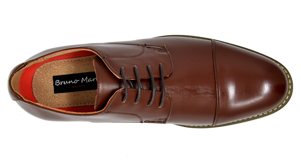 Bruno-Marc-Mens-Classic-Formal-Modern-Wingtip-Lace-Up-Dress-Oxfords-Shoes-6-5-15 thumbnail 59