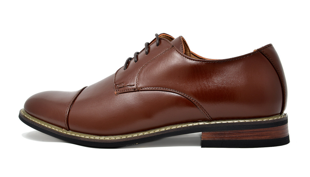 Bruno-Marc-Mens-Classic-Formal-Modern-Wingtip-Lace-Up-Dress-Oxfords-Shoes-6-5-15 thumbnail 57