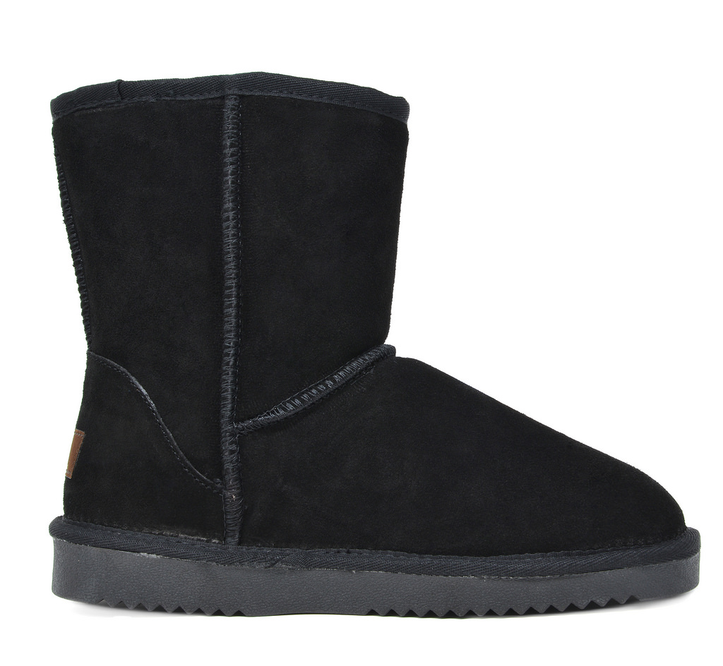DREAM-PAIRS-Women-039-s-Suede-Leather-Sheepskin-Fur-Lining-Winter-Boots miniature 35