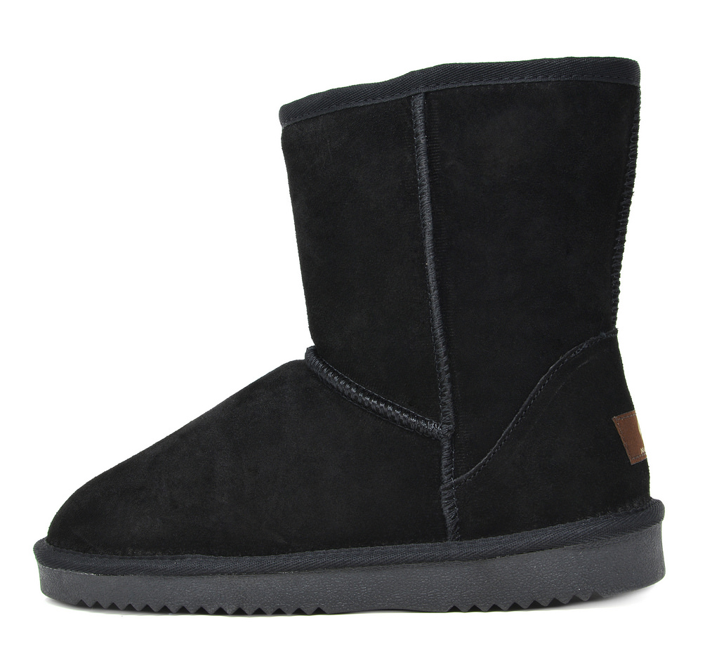 DREAM-PAIRS-Women-039-s-Suede-Leather-Sheepskin-Fur-Lining-Winter-Boots miniature 36