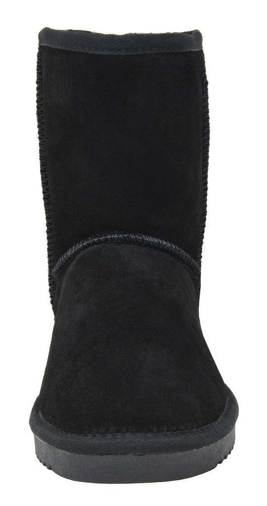 DREAM-PAIRS-Women-039-s-Suede-Leather-Sheepskin-Fur-Lining-Winter-Boots miniature 38