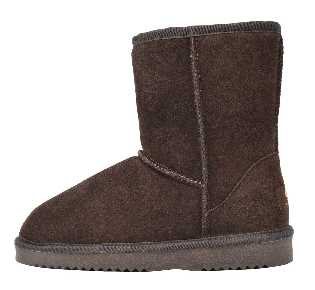 DREAM-PAIRS-Women-039-s-Suede-Leather-Sheepskin-Fur-Lining-Winter-Boots miniature 29