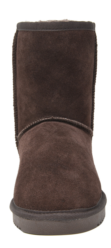 DREAM-PAIRS-Women-039-s-Suede-Leather-Sheepskin-Fur-Lining-Winter-Boots miniature 31