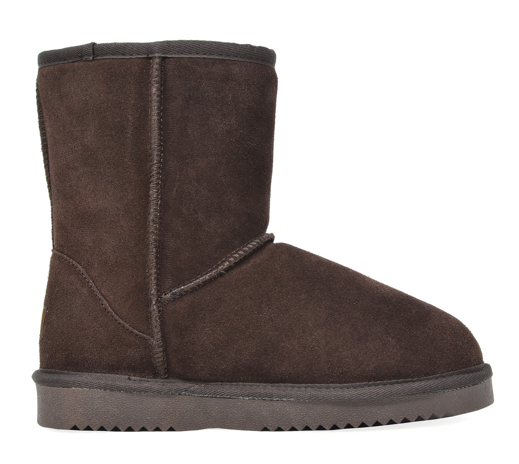 DREAM-PAIRS-Women-039-s-Suede-Leather-Sheepskin-Fur-Lining-Winter-Boots miniature 28