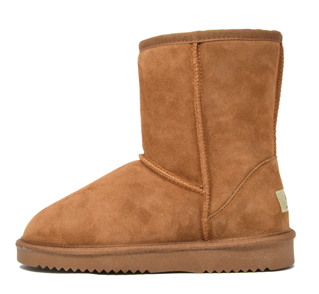 DREAM-PAIRS-Women-039-s-Suede-Leather-Sheepskin-Fur-Lining-Winter-Boots miniature 22