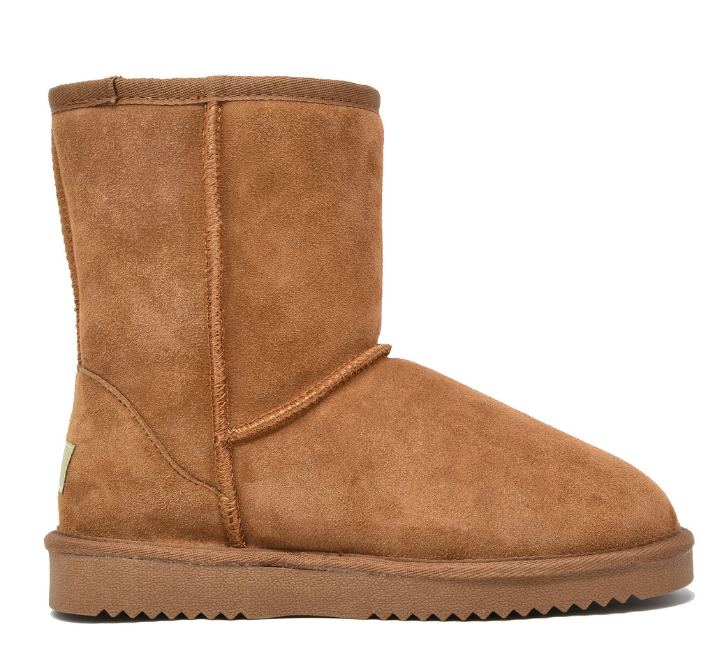 DREAM-PAIRS-Women-039-s-Suede-Leather-Sheepskin-Fur-Lining-Winter-Boots miniature 21