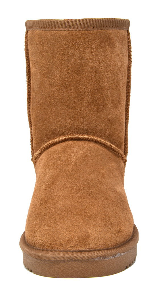 DREAM-PAIRS-Women-039-s-Suede-Leather-Sheepskin-Fur-Lining-Winter-Boots miniature 24