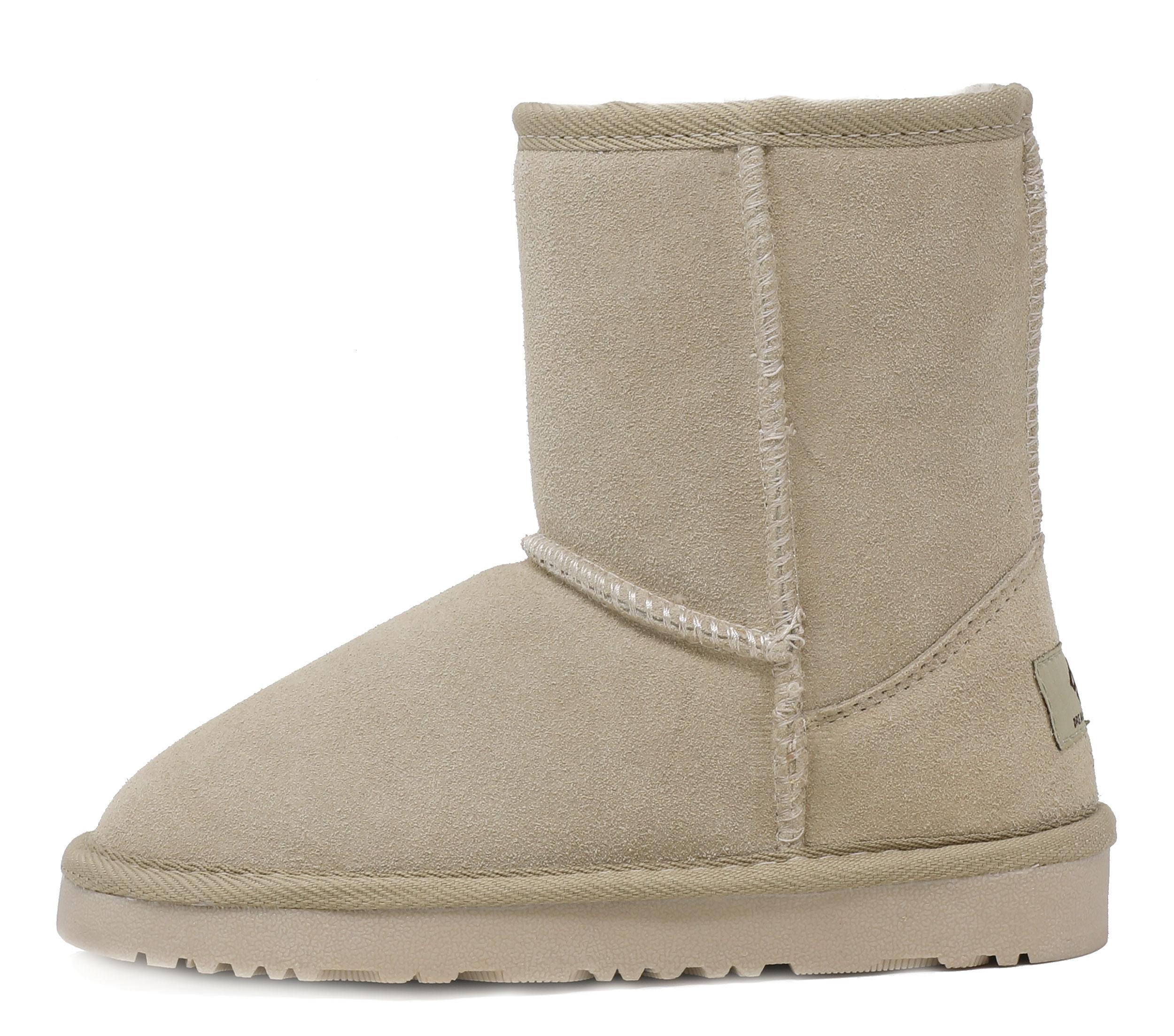 5dd754dc3ea Details about DREAM PAIRS Boys Girls Toddler/ Kids Shorty-k Winter Snow  Sheepskin Fur Boots