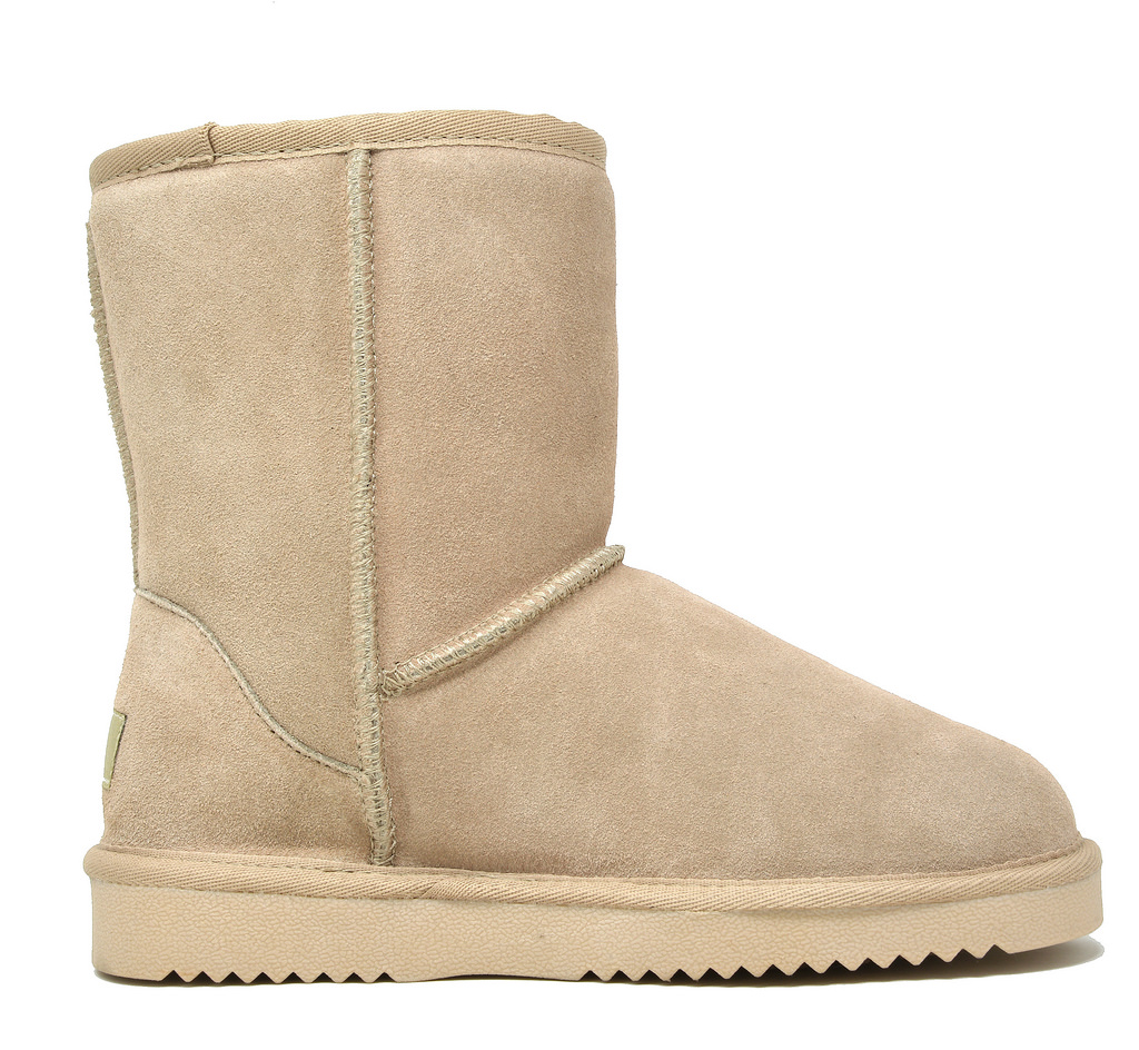 DREAM-PAIRS-Women-039-s-Suede-Leather-Sheepskin-Fur-Lining-Winter-Boots miniature 7