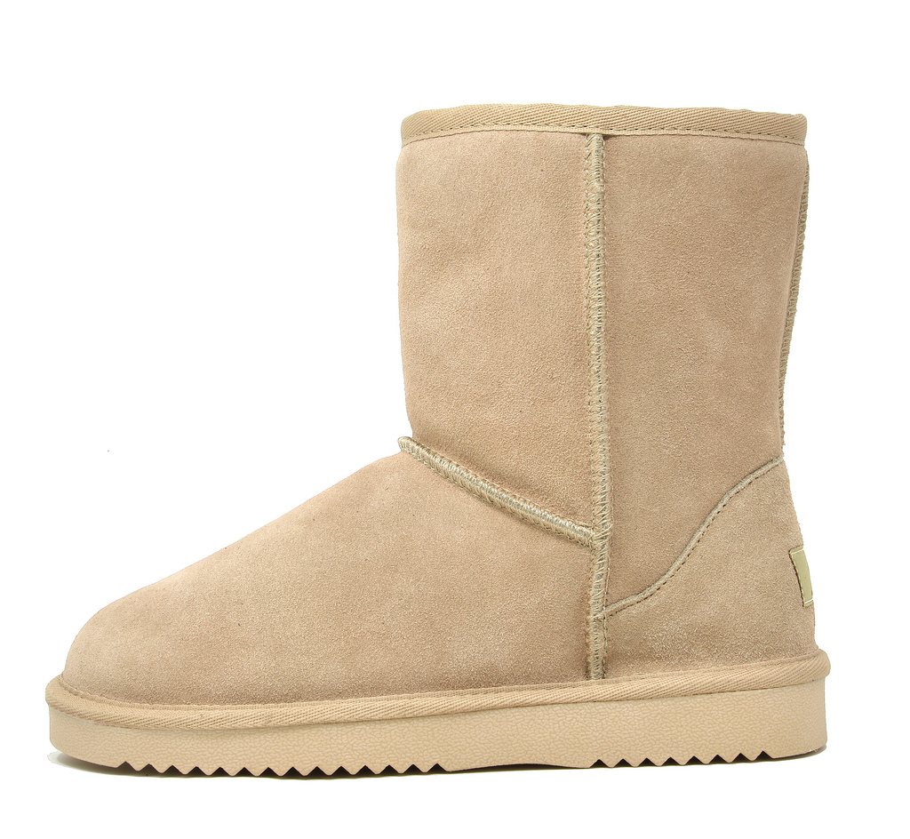 DREAM-PAIRS-Women-039-s-Suede-Leather-Sheepskin-Fur-Lining-Winter-Boots miniature 8