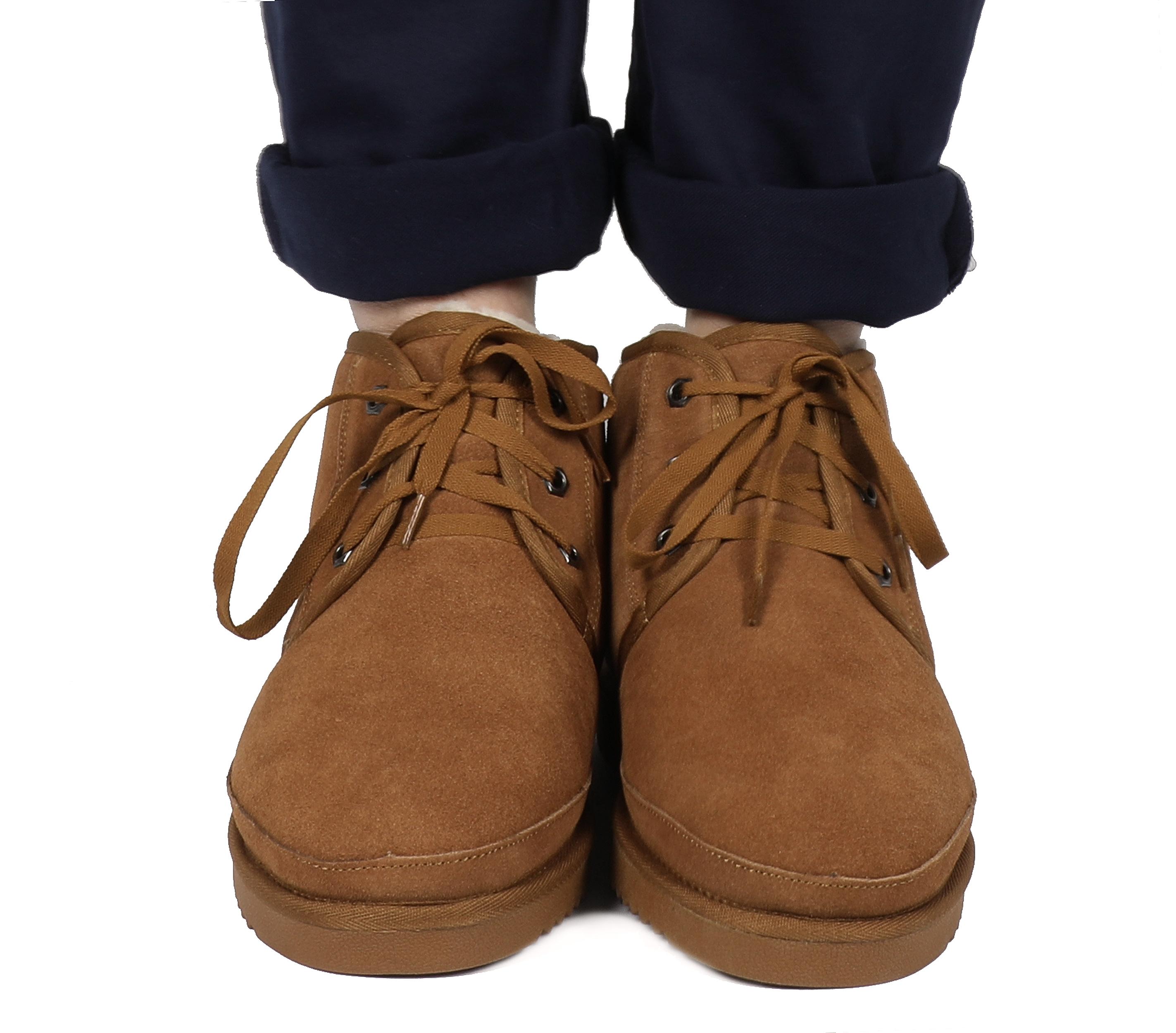 DREAM PAIRS Mens Winter Snow Boots