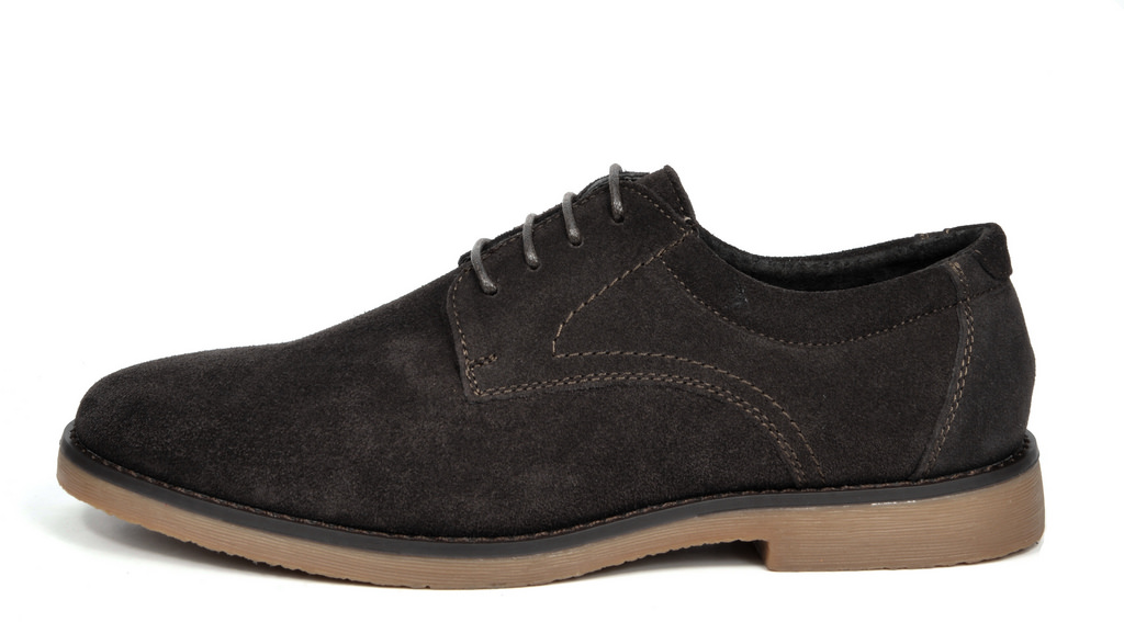 BRUNO-MARC-WRANGLE-Mens-Suede-Leather-Casual-Flat-Lace-up-Dress-Oxfords-Shoes thumbnail 17