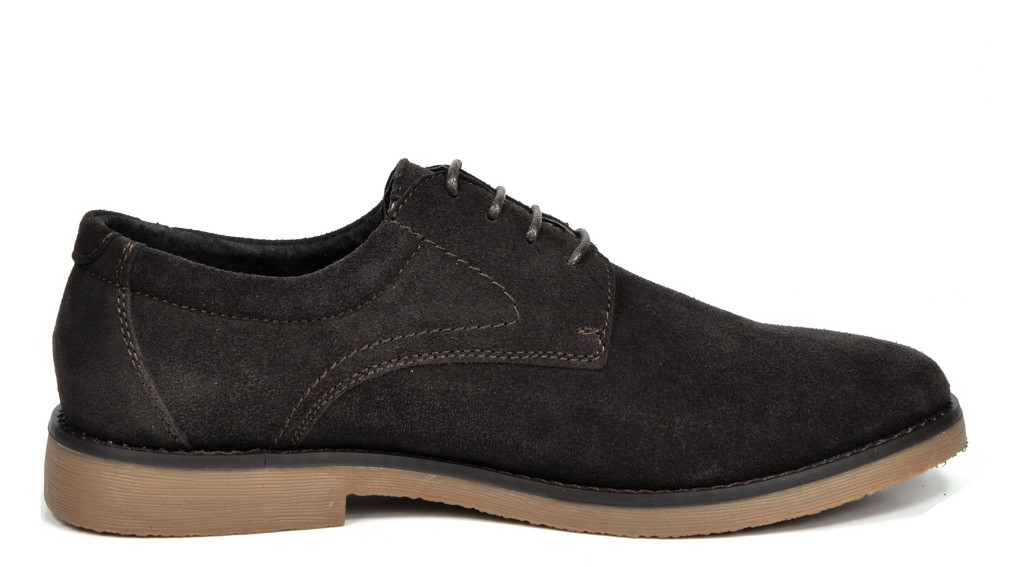 BRUNO-MARC-WRANGLE-Mens-Suede-Leather-Casual-Flat-Lace-up-Dress-Oxfords-Shoes thumbnail 18