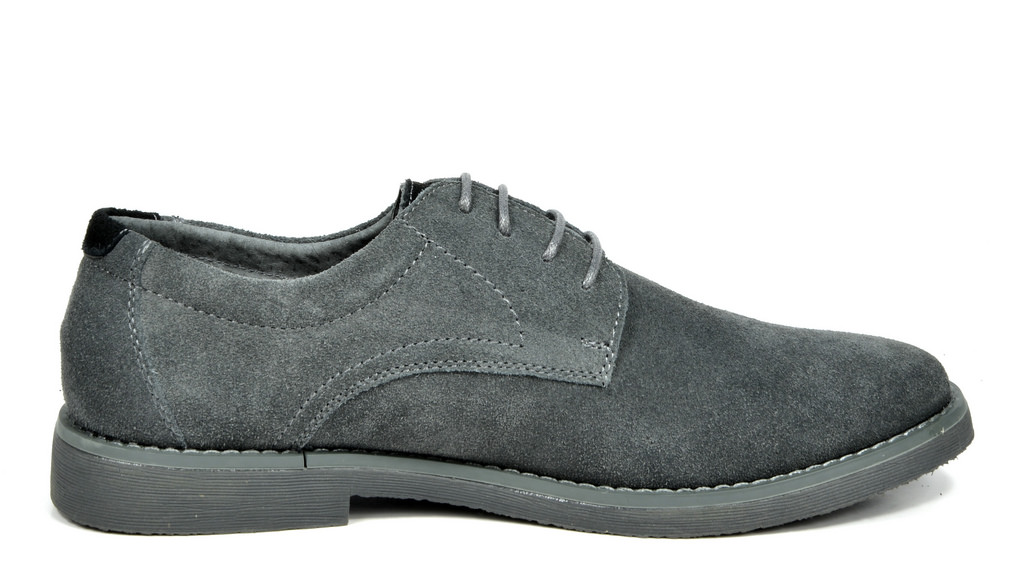 BRUNO-MARC-WRANGLE-Mens-Suede-Leather-Casual-Flat-Lace-up-Dress-Oxfords-Shoes thumbnail 11