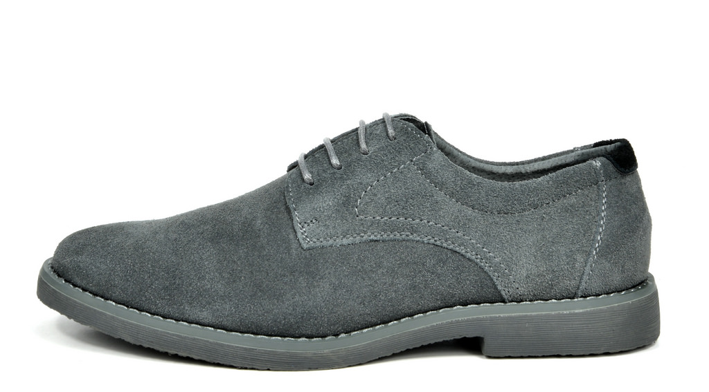 BRUNO-MARC-WRANGLE-Mens-Suede-Leather-Casual-Flat-Lace-up-Dress-Oxfords-Shoes thumbnail 10