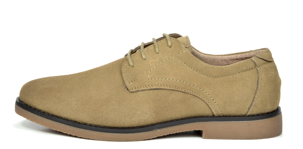 BRUNO-MARC-WRANGLE-Mens-Suede-Leather-Casual-Flat-Lace-up-Dress-Oxfords-Shoes thumbnail 26