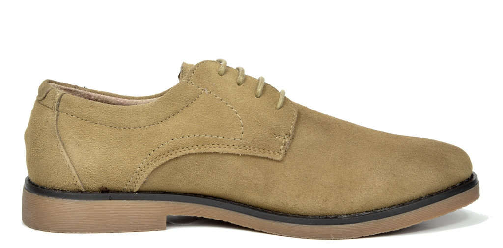 BRUNO-MARC-WRANGLE-Mens-Suede-Leather-Casual-Flat-Lace-up-Dress-Oxfords-Shoes thumbnail 27