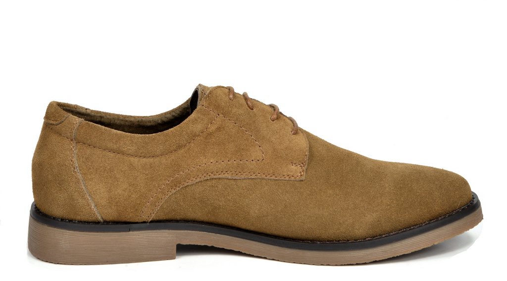BRUNO-MARC-WRANGLE-Mens-Suede-Leather-Casual-Flat-Lace-up-Dress-Oxfords-Shoes thumbnail 22