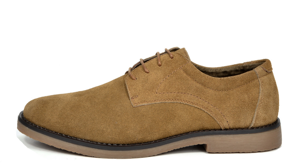 BRUNO-MARC-WRANGLE-Mens-Suede-Leather-Casual-Flat-Lace-up-Dress-Oxfords-Shoes thumbnail 21