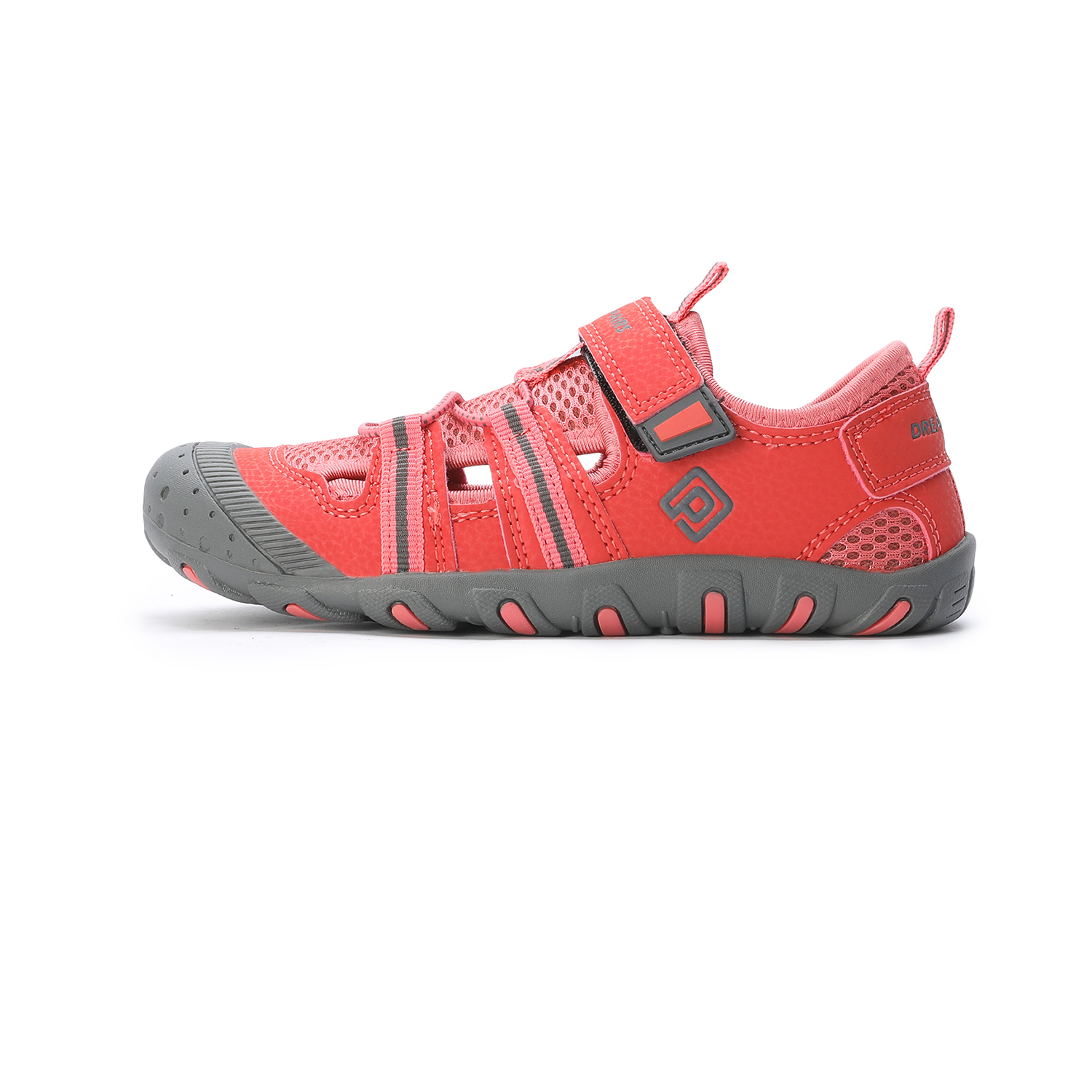 DREAM PAIRS Boys Girls Closed-Toe Breathable Athletic Outdoor Summer Sandals