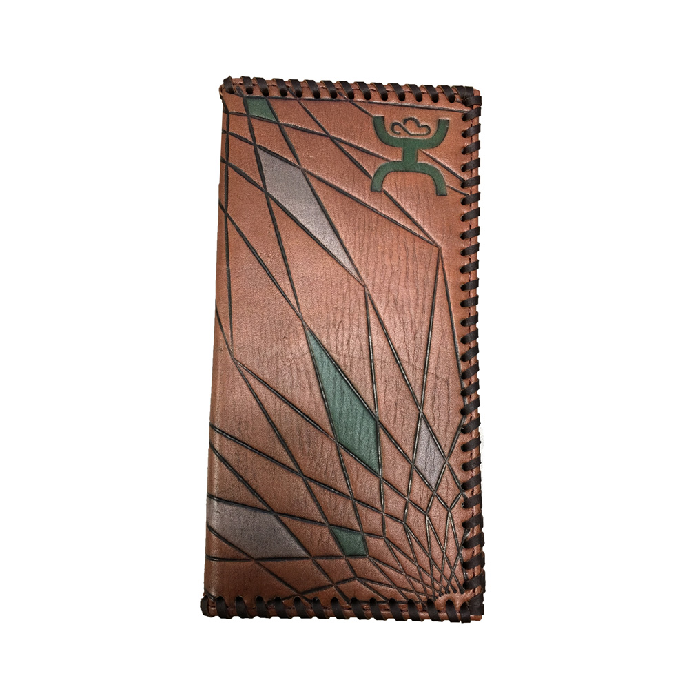 d873da62f971 Details about HOOey Geometric Rodeo Wallet