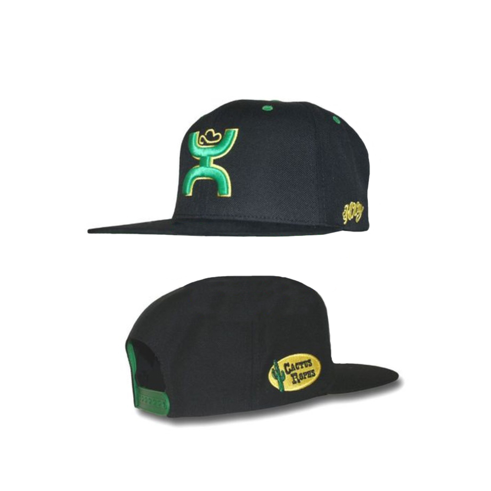 the best attitude 69736 99224 HOOey Cactus Ropes Black Adjustable Snapback Hat   eBay
