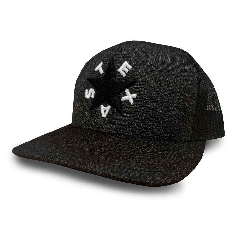Details about Oil Field Hats Dezavala Flag Adjustable Snapback Hat (Heather  Black White) 3d58f01611a