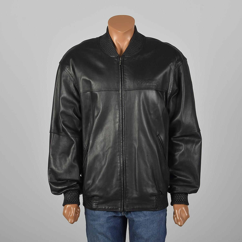 used pelle pelle leather jackets