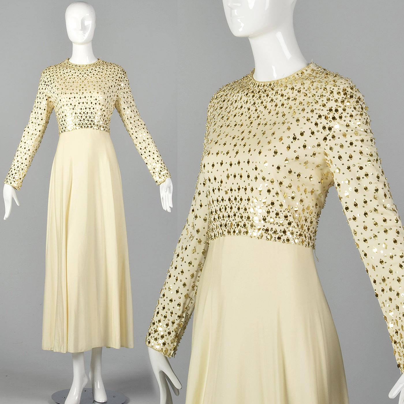 93b3971e99 Gold And Cream Evening Dresses - Gomes Weine AG