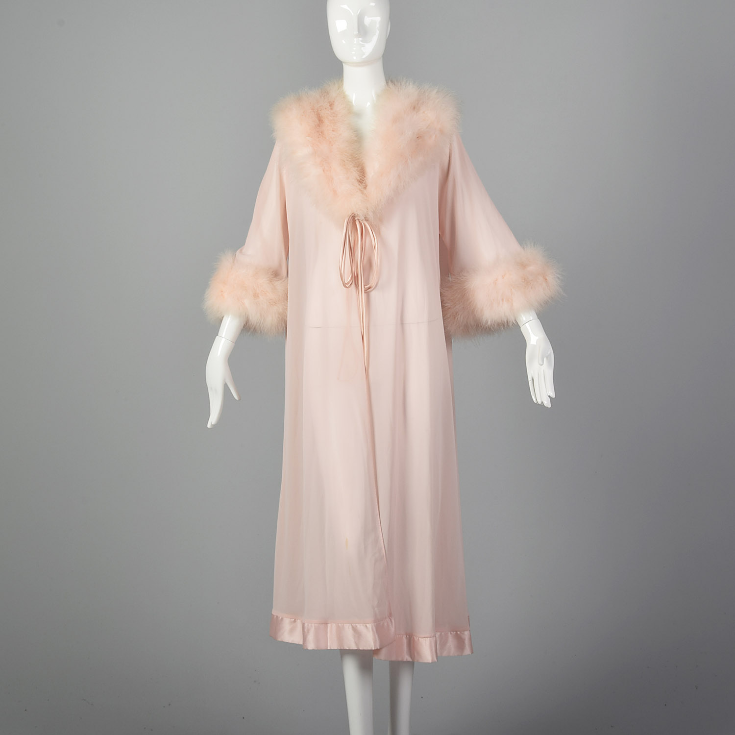 Feather Dressing Gown