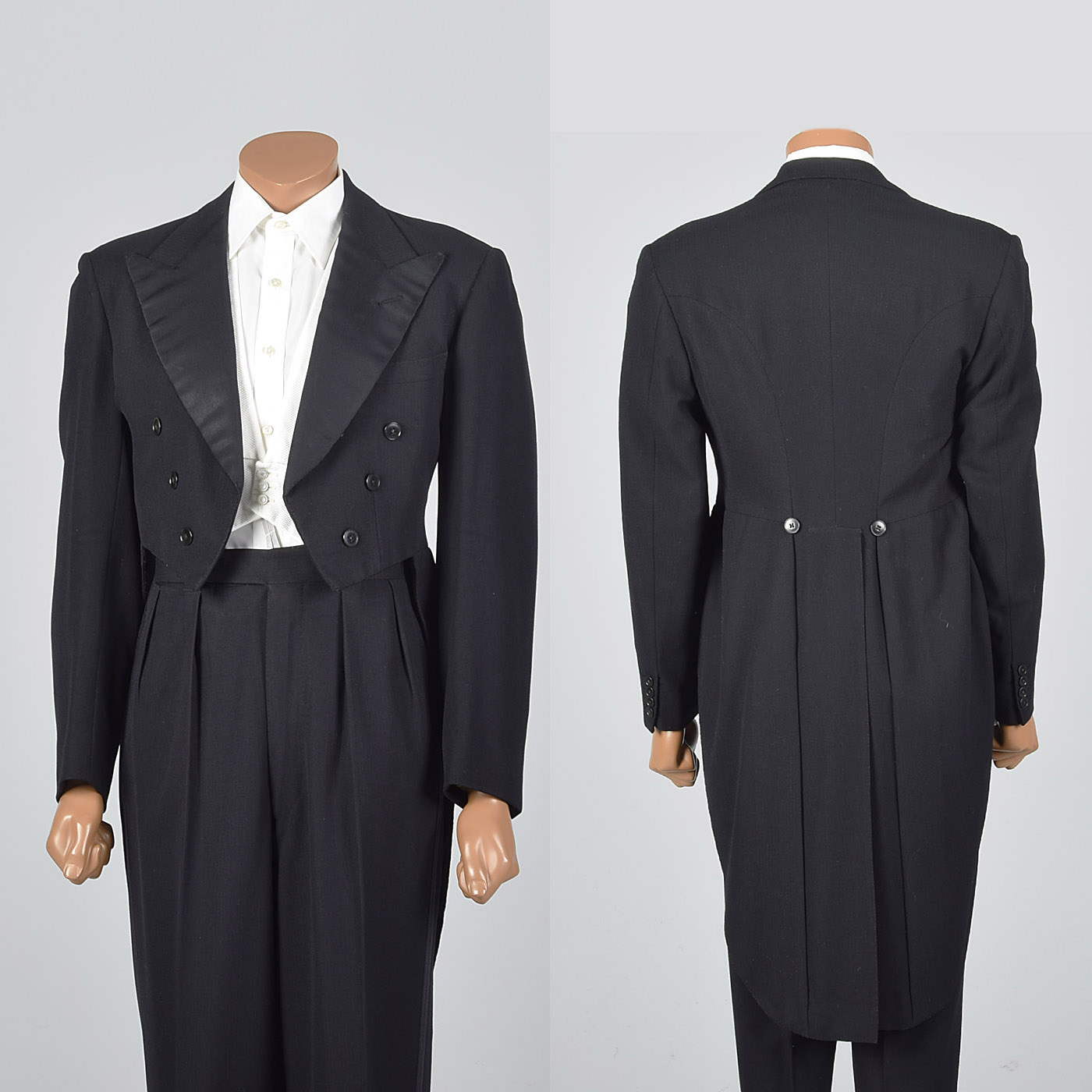 38 1950s Men Savile Row Tuxedo Black Tie White Tie Formal Evening ...