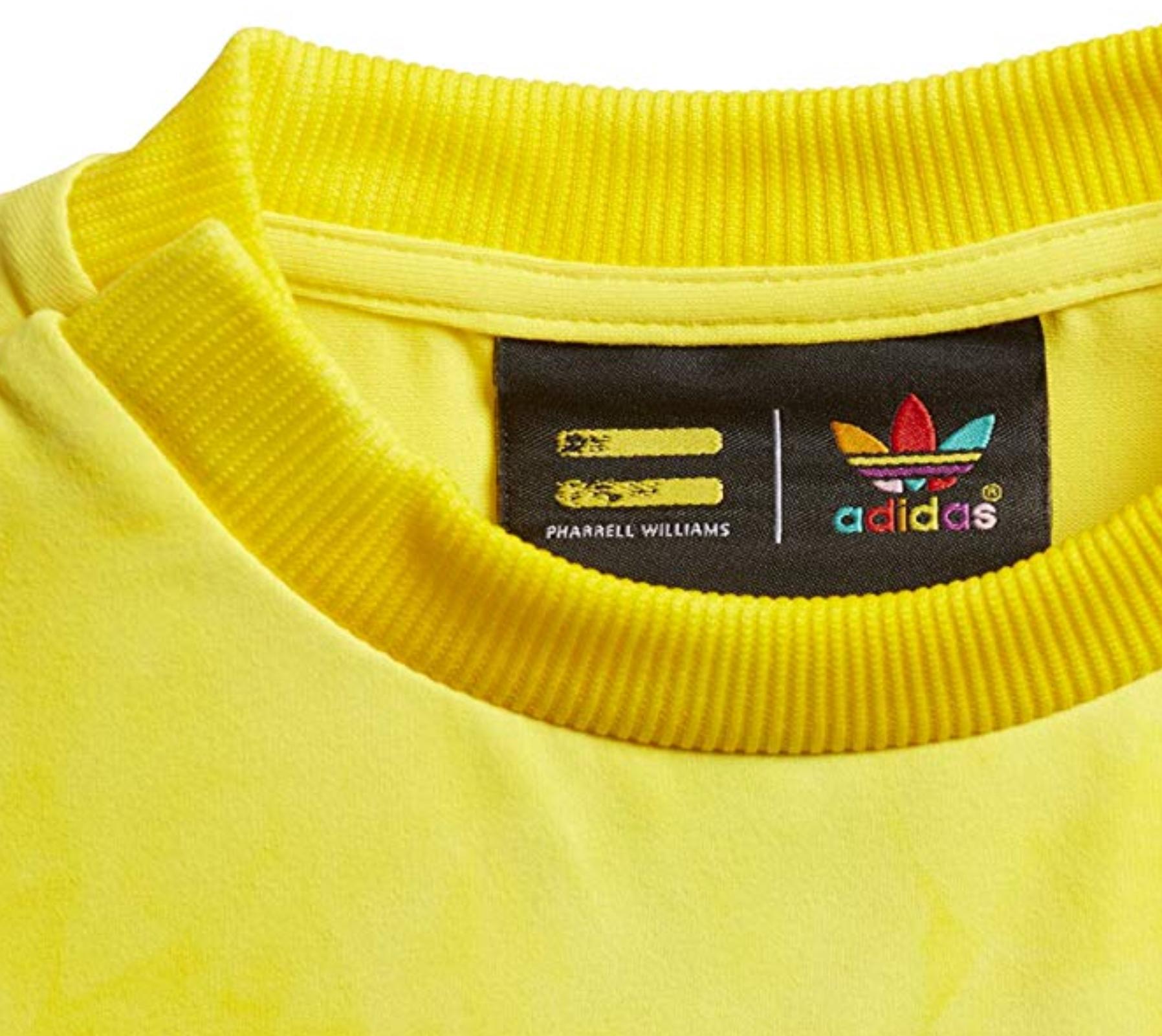 1bdf605fe117f Adidas Originals Pharrell Williams HU Holi Infants T-Shirt Yellow ...