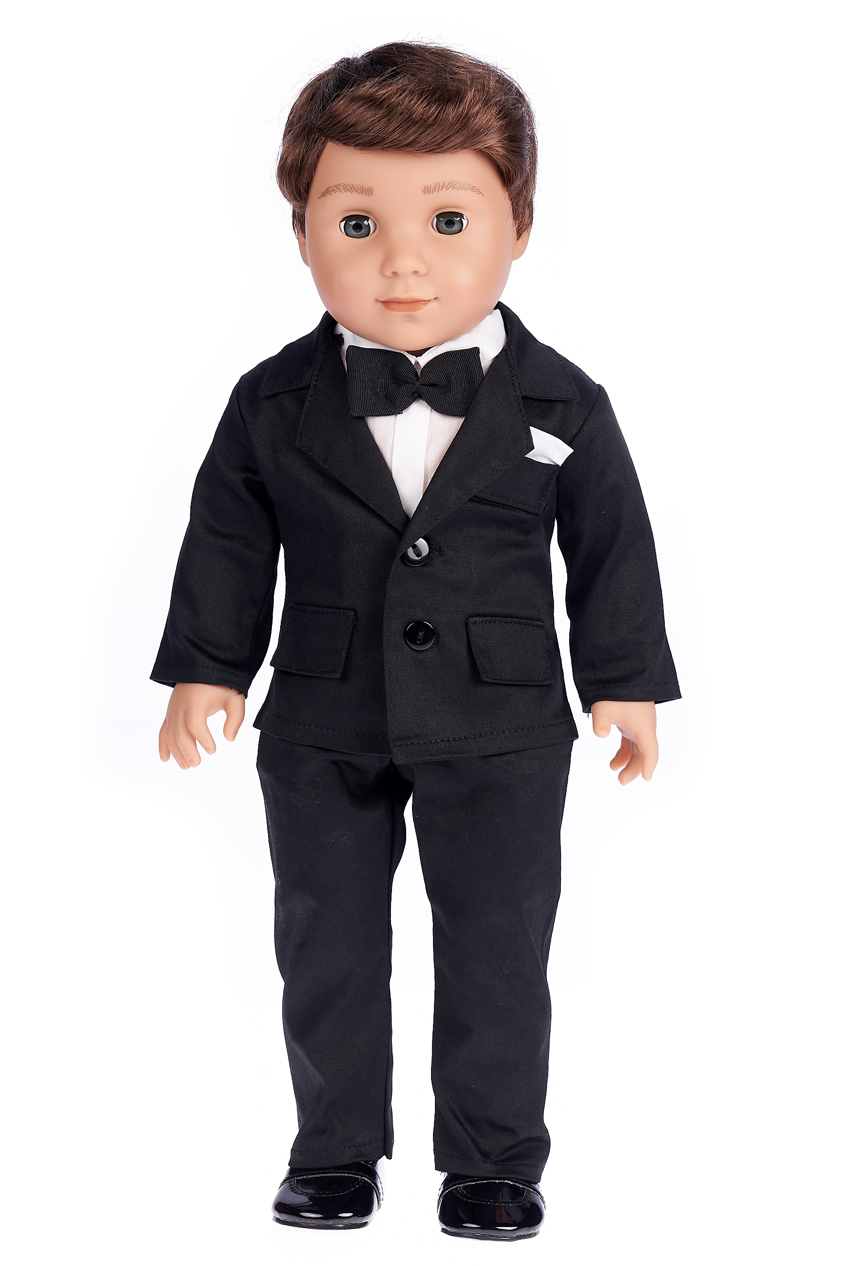 Tuxedo-5-Piece-Doll-Set-Clothes-Fits-18-inch-American-Girl-Doll