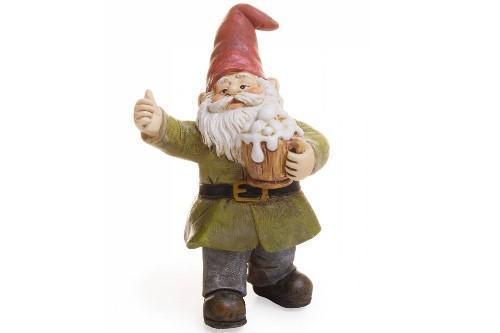 """Gnome Garden: 3.5"""" My Fairy Gardens Mini Gnome Figure Pick"""