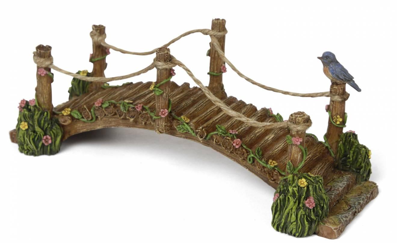 My Fairy Gardens Mini - Blue Bird Bridge - Supplies Accessories ...