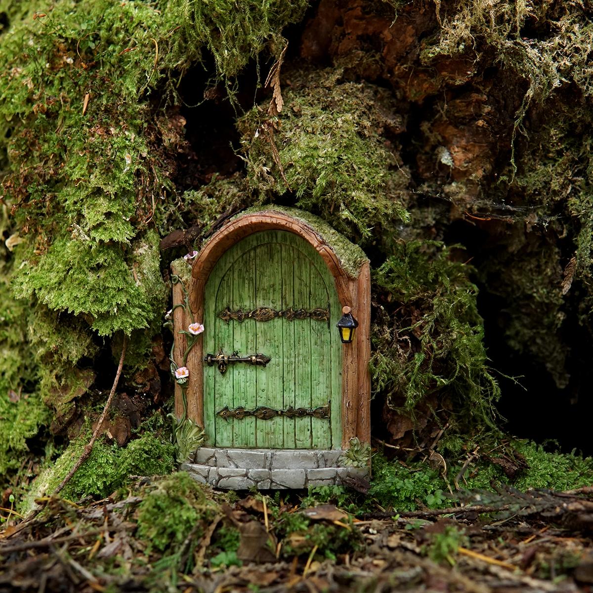My fairy gardens mini mystical green fairy door for My fairy door uk