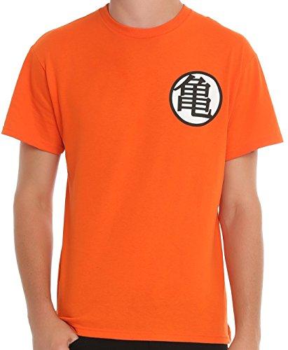 Dragon Ball Z Kame Symbol Orange Mens T Shirt Ebay