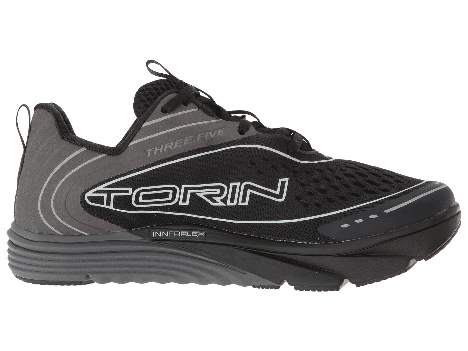 Altra Women's Torin Torin Torin 3.5 Lace Up Comfort Zero Drop Athletic Running shoes Black 24adc6