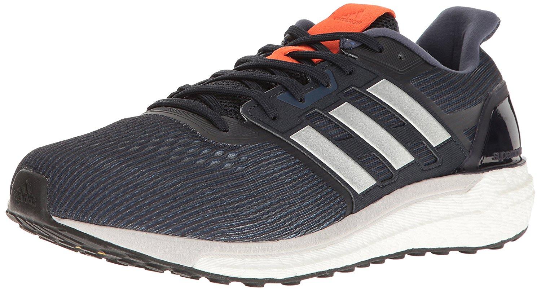 Adidas Men's Supernova BB3462 Athletic Running Shoes Grey/Navy/Silver Size 9.5M
