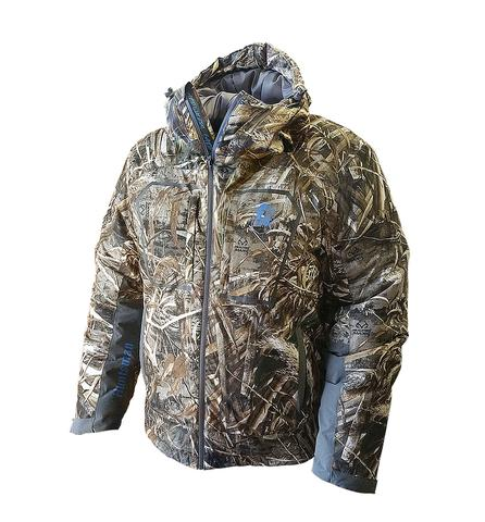 Gator Waders Men's Huntsman 3 Zip-Up Hunting Jacket Blue/Cam
